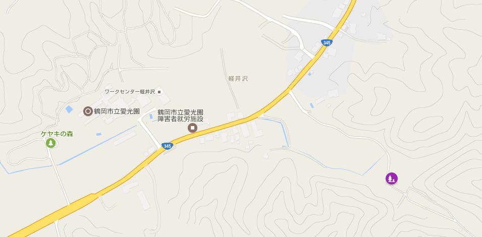神道霊園マップ
